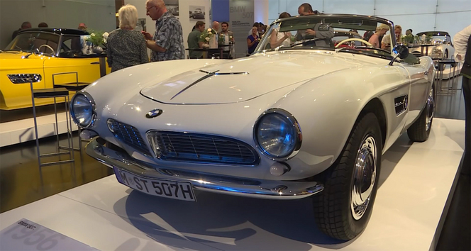 BMW célèbre les 60 ans du roadster 507