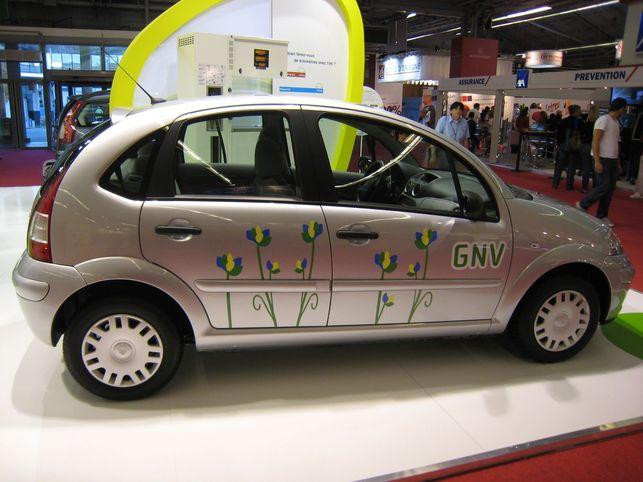 La Citroën C3 1.4i au GNV? 119 g CO2/km