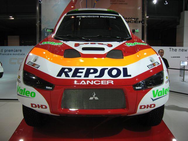 En live du Mondial : le Mitsubishi Racing Lancer
