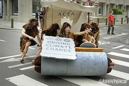 Pour Greenpeace, le lobby automobile sape la législation européenne