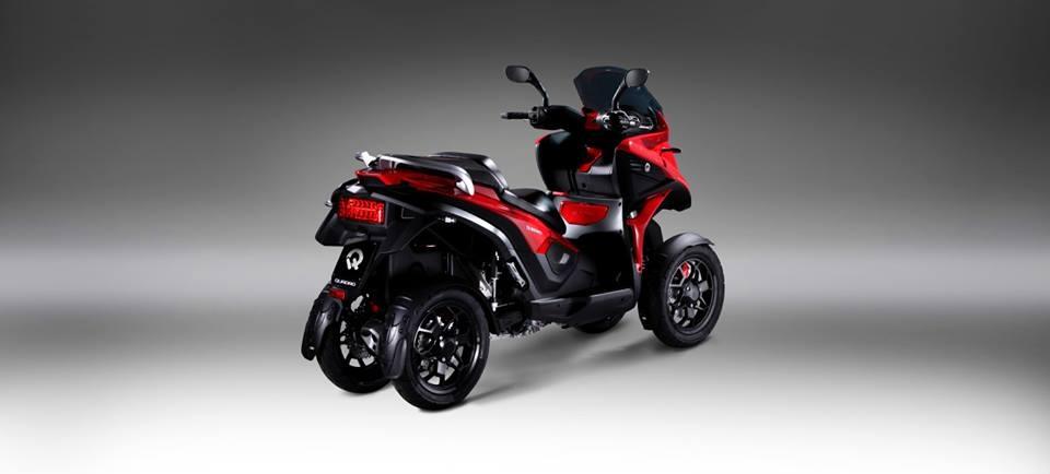 quadro four le premier scooter 4 roues. Black Bedroom Furniture Sets. Home Design Ideas