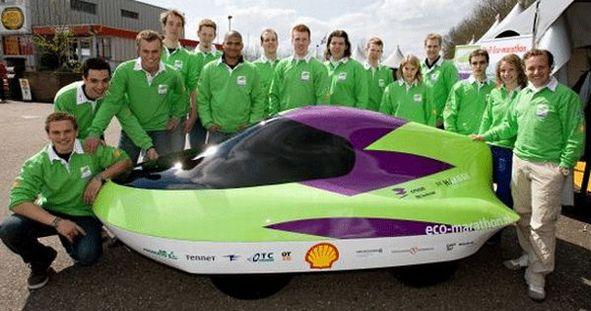 Shell Eco-marathon Europe 2008 : le lycée St Joseph La Joliverie encore vainqueur !