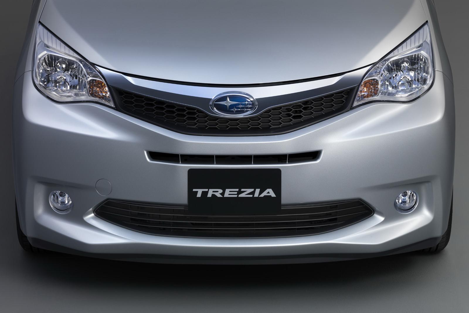 Nouveau Trezia Le Toyota Verso S De Subaru