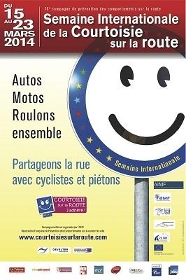 Sécurité routière: la cohabitation routière objet d'une semaine internationale