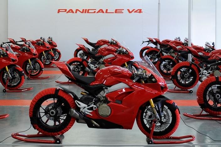Marché moto: en 2018, une Superbike vendue sur quatre était une Ducati Panigale