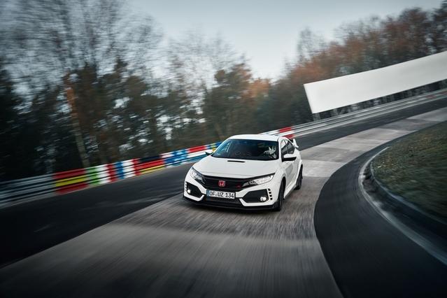 Nürburgring - La nouvelle Honda Civic Type R établit un nouveau record chez les tractions