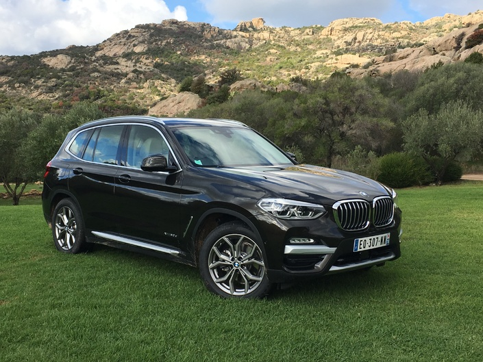 bmw x3 2017 les premi res images de l 39 essai en live impressions de conduite. Black Bedroom Furniture Sets. Home Design Ideas