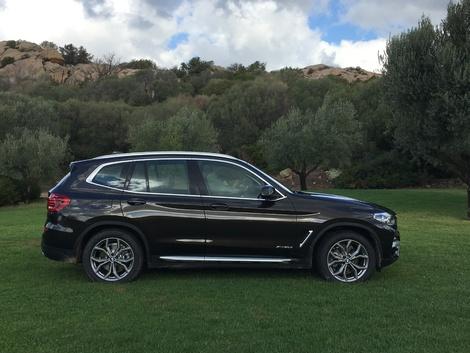 BMW X3 (2017) - Les premières images de l'essai en live + impressions de conduite