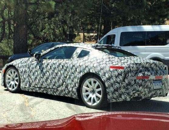 Scoop : le coupé Lexus LF-LC se promène