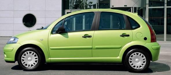 Une Citroën C3 1.4i GNV au Salon de la Nouvelle Ville 2008