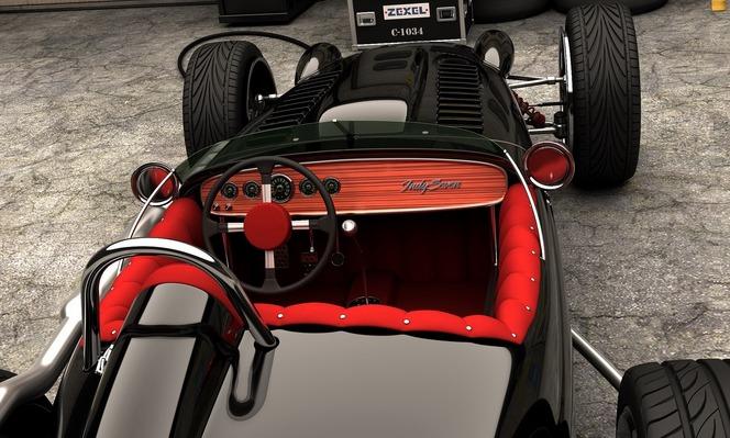 La Caterham Seven change de look et reçoit un moteur V8 de Formule 1!