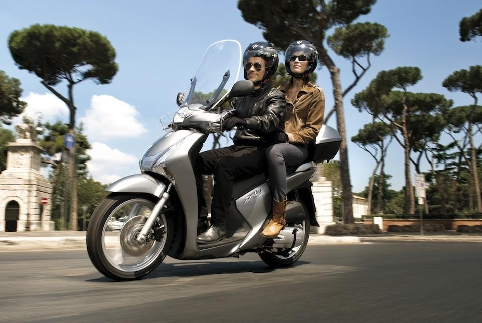 Nouveauté Scooter 2013 : les Honda SH125i et SH150i arrivent en Europe