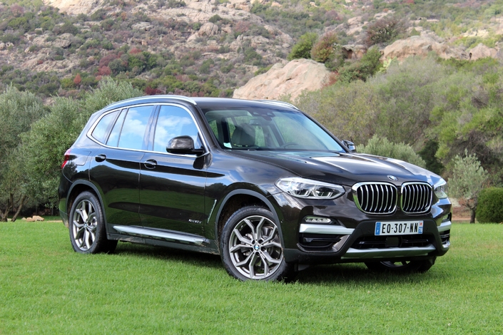 essai vid o bmw x3 dans la lign e. Black Bedroom Furniture Sets. Home Design Ideas