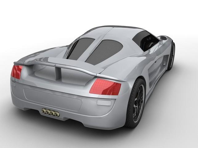 Concours Progressive Automotive X Prize : la supercar de Hybrid Technologies à couper le souffle !