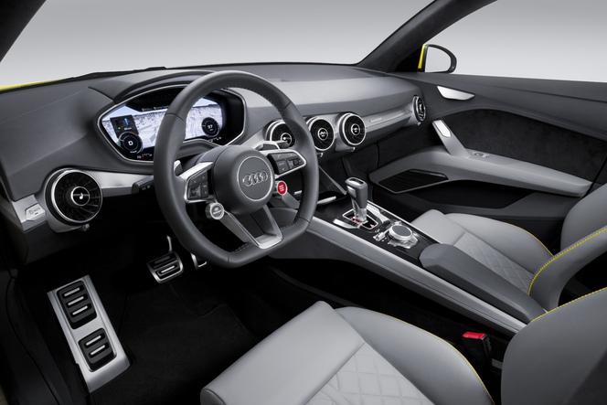L'Audi TT allroad concept s'expose au salon de Pékin 2014