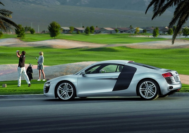 L'Audi R8 avec des phares tout LED !