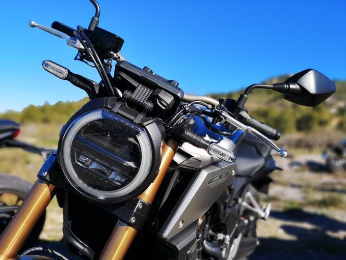 Essai Honda CB650 R mod. 2019