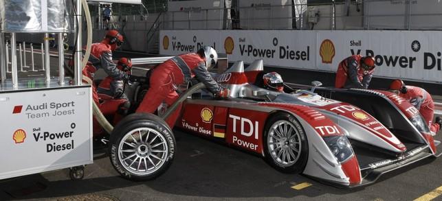 Les 24 Heures du Mans 2008 adoptent le biocarburant Shell/Choren
