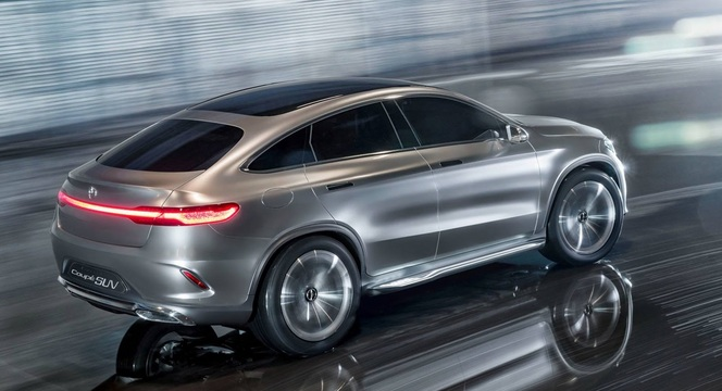 Salon de Pékin 2014 - Mercedes Coupé SUV Concept