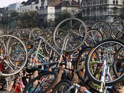 Le vélo parisien fait figure d'exemple