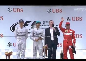 F1 - GP de Chine : nouveau doublé Mercedes, Hamilton devant Rosberg, Alonso de retour