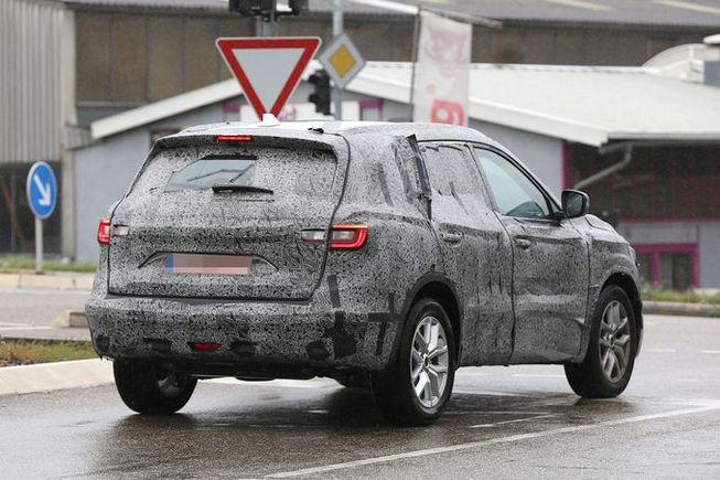 Surprise : le nouveau Renault Koleos se promène