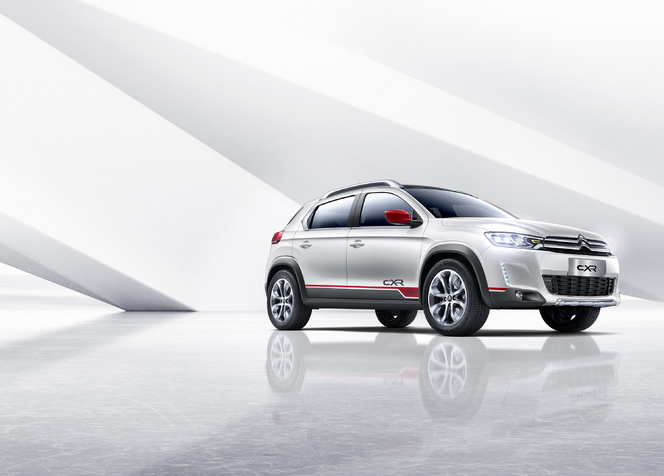 Salon de Pékin 2014 - Un Citroen C-XR quasi de série