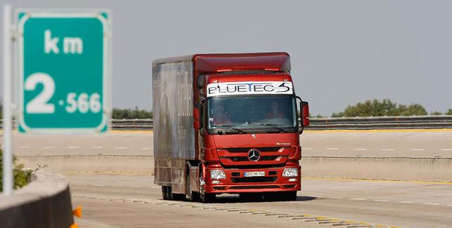 Le Mercedes-Benz Actros ? Le camion qui consomme le moins !
