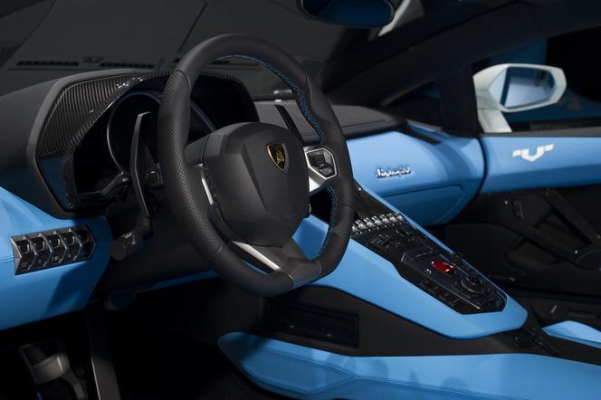 Pékin 2014 : Lamborghini fait la promotion d'Ad Personam avec l'Aventador Nazionale