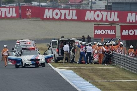 Moto GP - Japon : les inquiétudes subsistent pour De Angelis