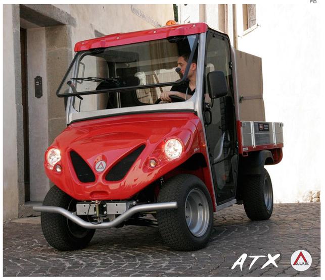 L'Alkè ATX 200e, un utilitaire électrique à l'allure de bestiole, sort chez nous !
