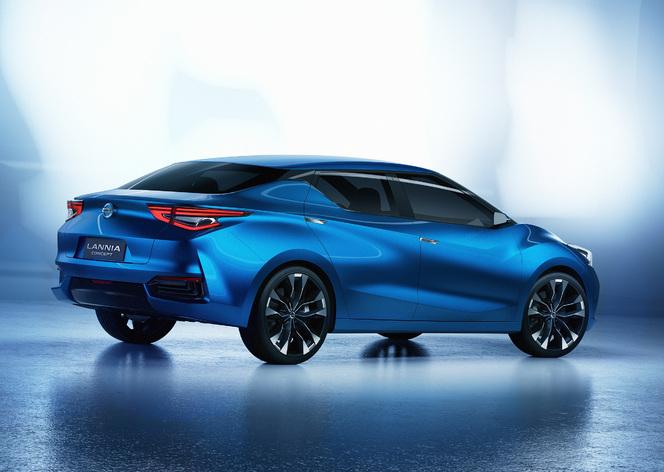 Salon de Pékin 2014 - Nissan Lannia Concept: une familiale osée