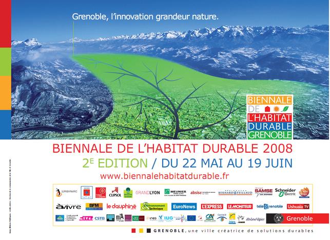 La Biennale de l'habitat durable 2008 vous tend les bras