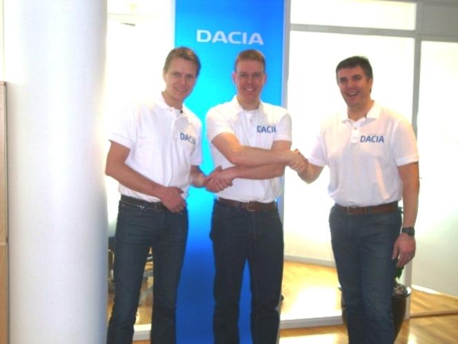 Dacia arrive dans le championnat de tourisme suédois
