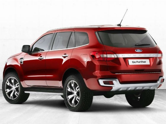 Pékin 2014 : le futur Ford Everest sera aussi chinois