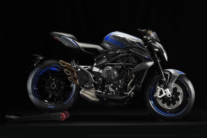 Le nouveau partenariat entre Pirelli et MV Agusta donne naissance à une Brutale 800 RR limited