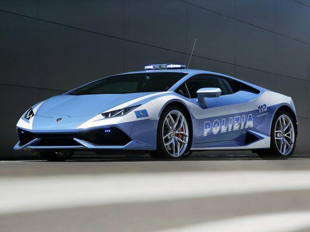 Top 10 Caradisiac - Les voitures de police les plus cool dans le monde