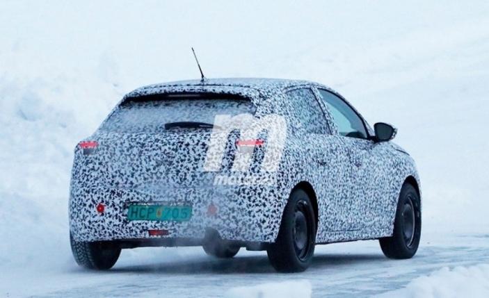 La future Opel Corsa de sortie