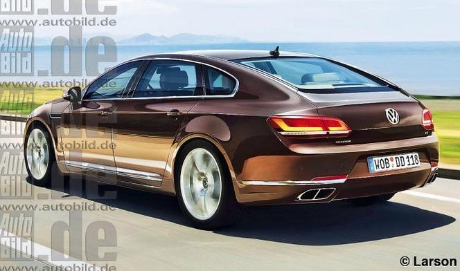 Future Volkswagen Phaeton: comme ça?
