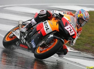 Moto GP - Grande Bretagne: Hayden est performant mais ne sait pas ce qui l'attend en course