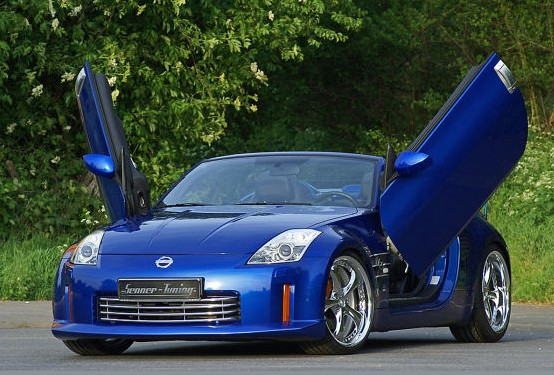 nissan 350 z by senner tuning. Black Bedroom Furniture Sets. Home Design Ideas