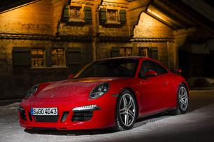 Prise en mains - Porsche 911 Carrera 4 et 4S : holiday on ice