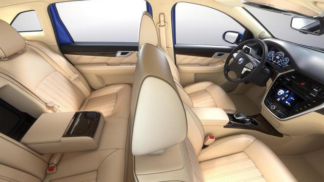 Pékin 2014 : Denza, l'électrique de Daimler-BYD offre 300 km d'autonomie