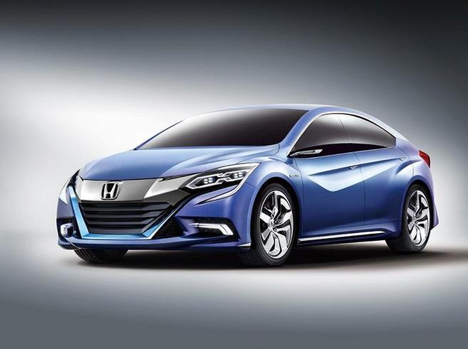 Honda Concept B : une berline hybride pour la Chine