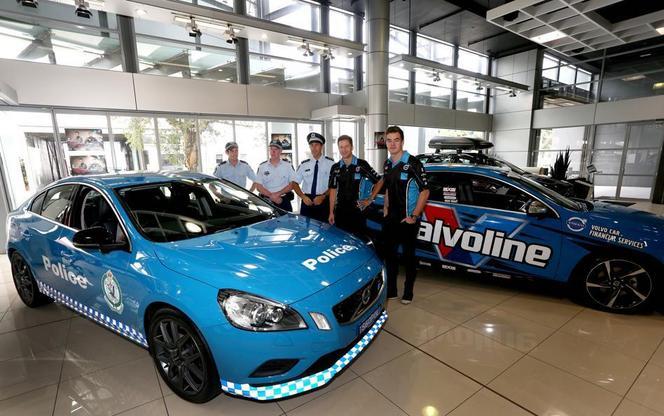 Volvo livre une S60 Polestar à la police australienne