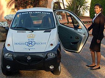 Des voitures électriques proposées à Antibes