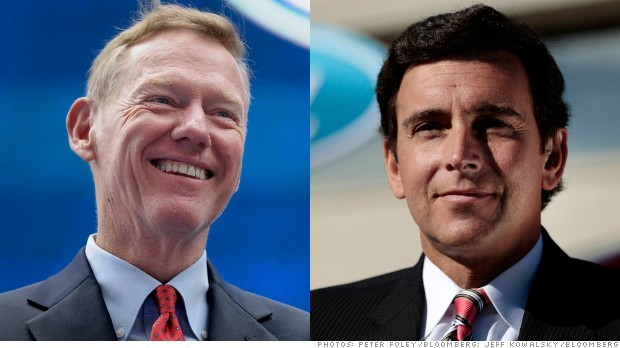 Mark Fields va succéder à Alan Mulally à la tête de Ford