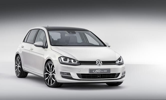 Volkswagen Golf Edition Concept : 40 bougies