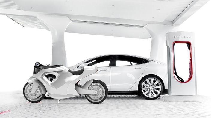 Électrique: et si une moto Tesla ça donnait ça?