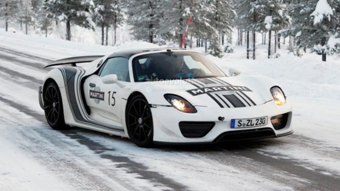 Porsche 918 Spyder : officiellement affichée à 845 000$